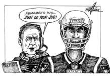 Editorial cartoon by Ed Turner