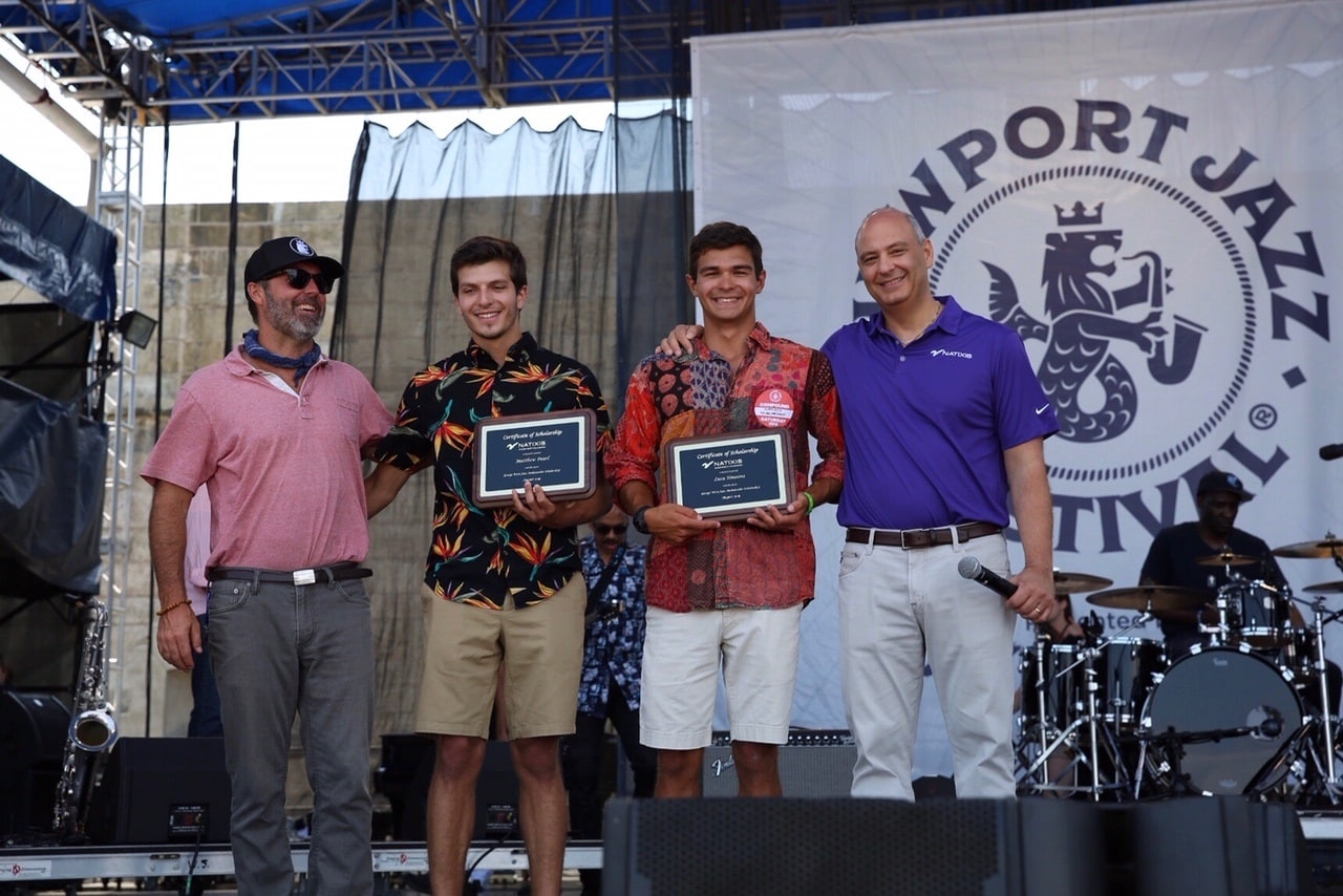 Pearl receives $5,000 scholarship at Newport Jazz Festival