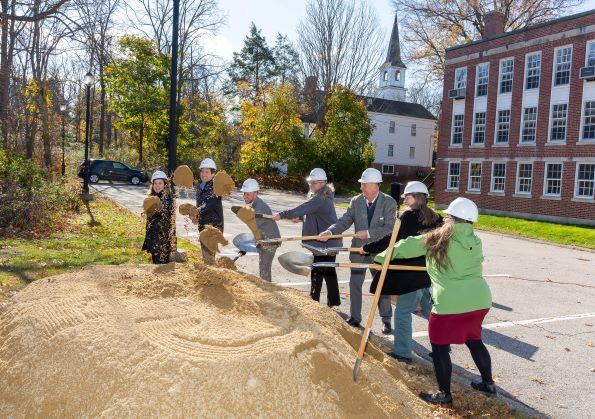Grafton celebrates groundbreaking held for new public library - Community Advocate