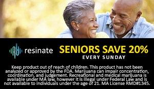 Resinate Senior discounts