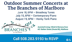 Summer Concerts at Branches in Marborough