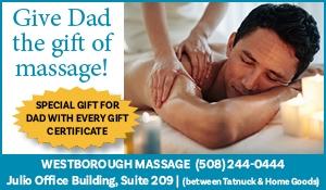 Westborough Massage for Dad