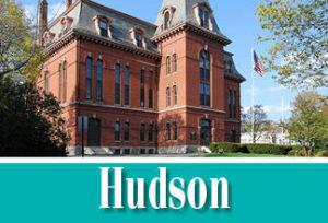 Hudson town icon