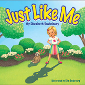 "Cover of children's book ""Just Like Me"" by Elizabeth Tewksbary"