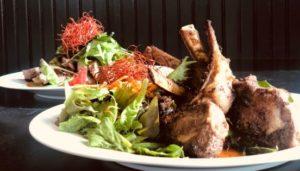 Lamb Chops Street Style Thai Spicy Grapow Sauce