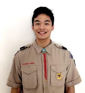 Northborough Troop 101 Boy Scout Brandon Lu