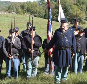Reenactors will give visitors a glimpse of life in a number of conflict eras at a series of historical encampments, August 7 – 8.