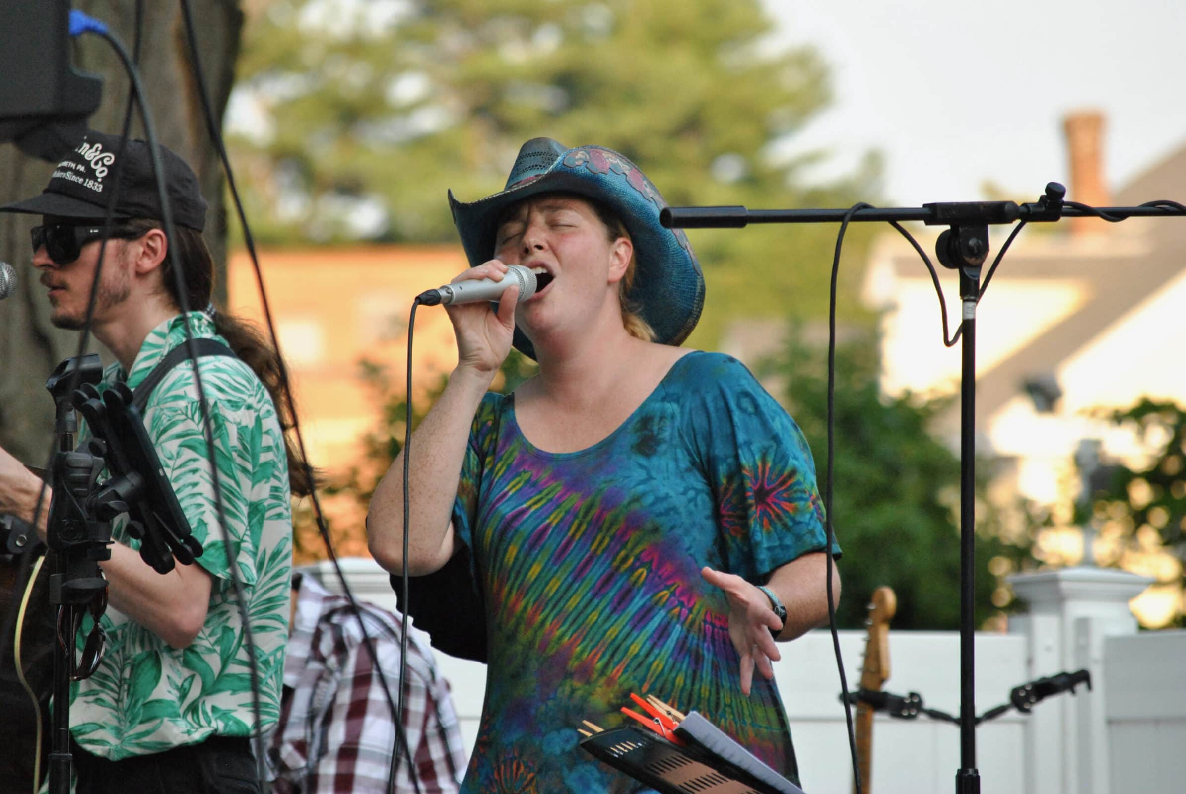 Members of country music band Southbound Train perform as part of this year's ongoing Summer Concert Series in Marlborough.
