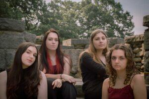 Evil Filipe is the work of Abby Richer, Emma Bain, Maia Staltare and Ella Staltare.