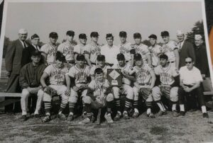 One of Ted Rolfe's Northborough baseball teams poses for a team photo. Photo/Courtesy Ken Giardina