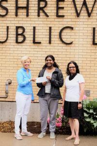 2021 Shrewsbury High School graduate Fiona Tanikonda has received a $1,500 Friends of the Shrewsbury Public Library scholarship.