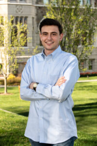 Max German is one of Shrewsbury's youngest elected town meeting members. He's also a Boston College student and a winner of the Truman Scholarship.