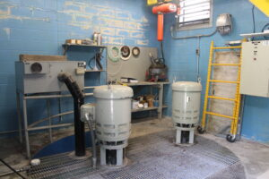 A look inside the Jordan Pond Pump Station.