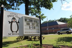 Proctor Elementary School is located on Jefferson Road in Northborough.   Photo/Laura Hayes