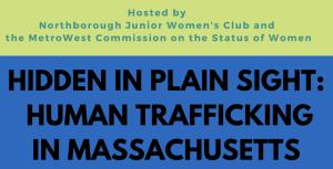 human trafficking seminar logo