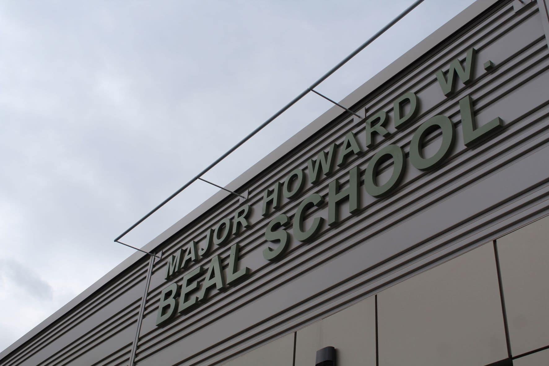 The new Beal school is located at 214 Lake St.
