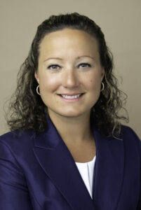 Larissa Thurston is the new President and CEO for St. Mary's Credit Union.