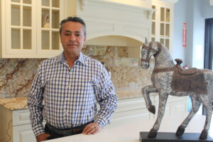 Majid Goharzadeh is the owner of Shrewsbury Marble and Granite.