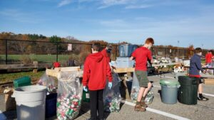 Grafton Troop 101 scouts collect cans and bottles scouts at last year's bottle drive