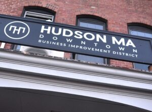 Leaders from Hudson's Downtown Business Improvement District are appealing to the community to support Hudson in a competition to win $25,000.   Photo/Ed Karvoski Jr.