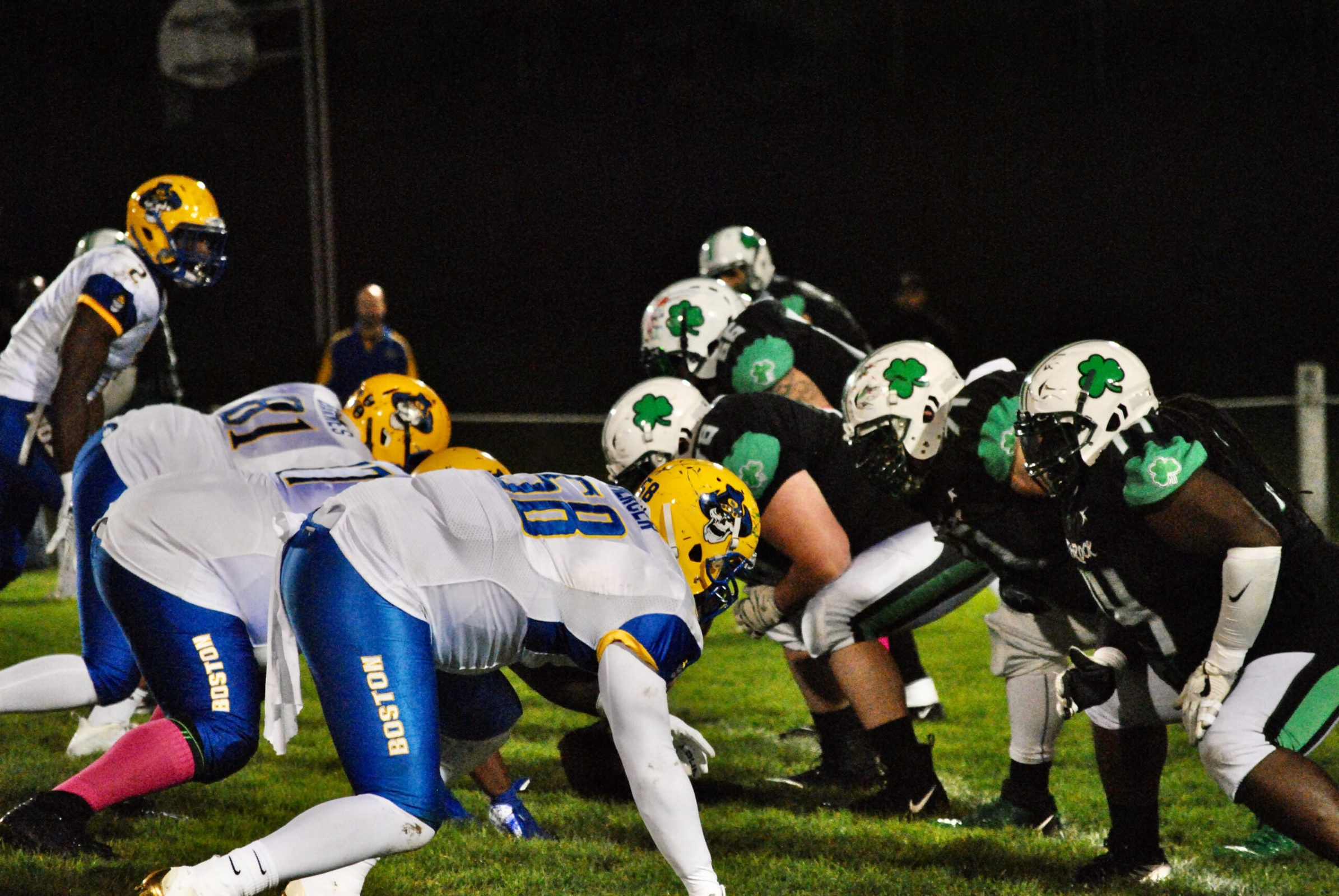 The Shamrocks faced off against the Boston Bandits on Oct. 9.