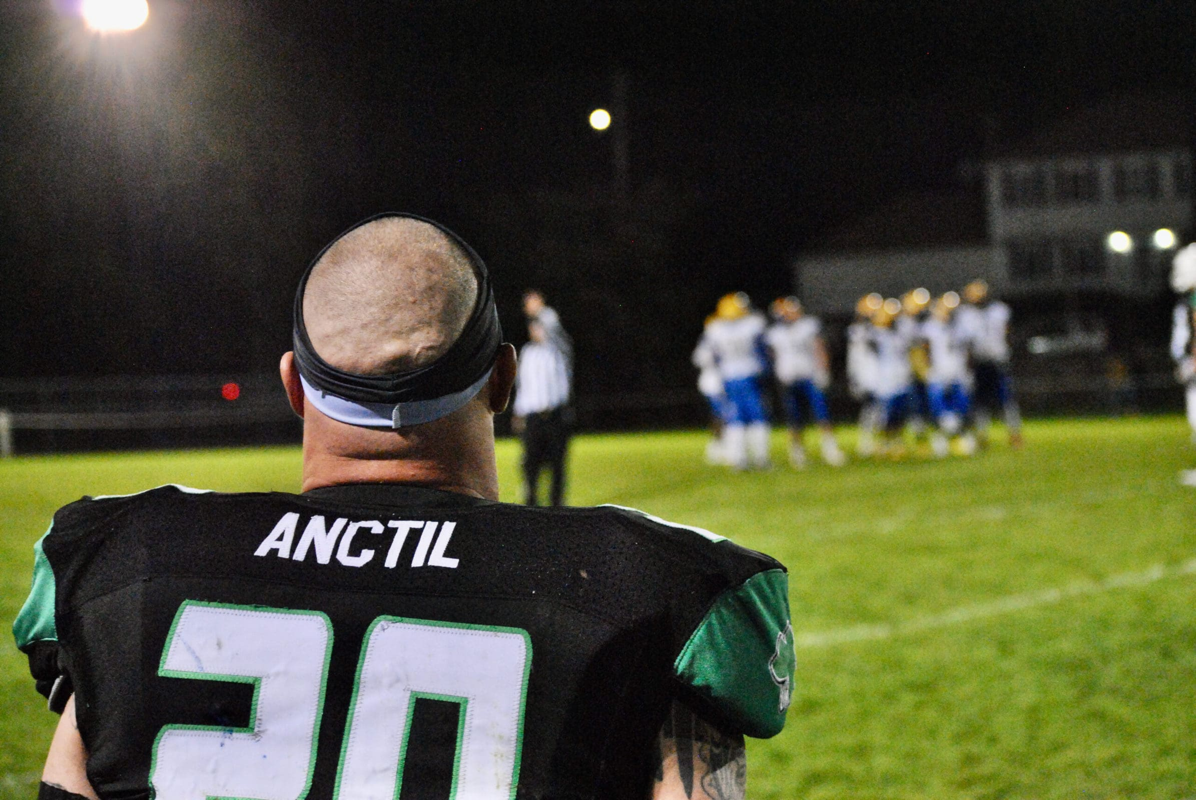 Marlborough's Brett Anctil watches the action during his team's game against Boston.
