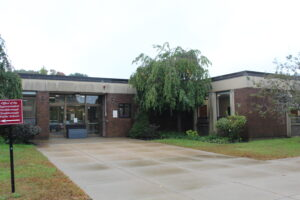 The Margaret A. Neary Elementary School is located at 53 Parkerville Rd.  (Photo/Laura Hayes)