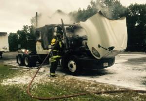 290 truck fire 2 rs