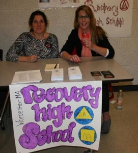 Recovery High School resource table