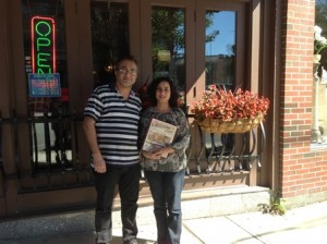 Nader and Nevine AbdelMalek, the new owners of Christina's Café (Photo/submitted)