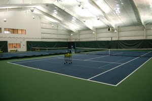 Westboro Tennis & Swim Club's new tennis building. Photo/submitted