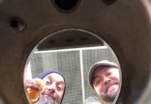 Head Brewer Keith Abramo and owner Carl Persson. Photo/submitted