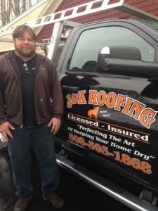 J&K Roofing owner Jim Dayotas Photo/submitted