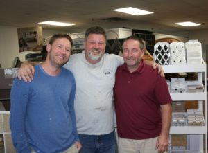 (l to r) Dave, Steve and Keith Luce (Ken is missing from photo). Photo/Jane Keller Gordon