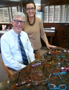 Jim and Eddi Magay of Magay & Barron Eye Center. Photo/ Nancy Brumback