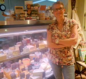 Simone Linsin, owner of Pecorino Photo/Nancy Brumback