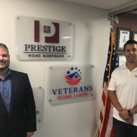 Wesley Oliver (l ) and John Lucas, co-presidents of Prestige Home Mortgage Photo/courtesy of Prestige Home Mortgage