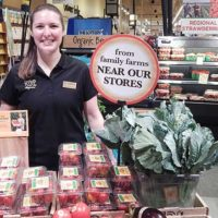 Wegmans Produce Management Trainee Janina Freedley. Photo/Melanie Petrucci