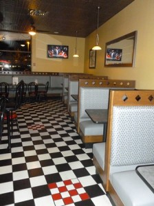The restaurant's newly remodeled dining area. photo/submitted