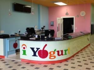 Westborough's newest frozen yogurt shop, iYogurt, will open mid-September. Photo/Valerie Franchi