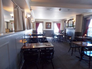 The Grafton Inn dining room offers a casual and colonial setting for a fine meal. Photo/Valerie Franchi