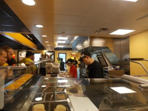 Moe's fillings bar is made daily with the freshest ingredients. Photo/Valerie Franchi