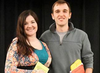 Keri McCarthy and Matt Mariner. Photo/submitted