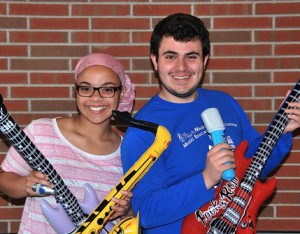 Most Musical: Claudia Cruz and Jake Sandakly