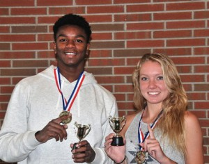 Future Olympian: Nonso Melifonwu and Kate Shannon