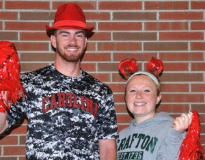 Most Spirited: Matt Olsen and Nicole Breault