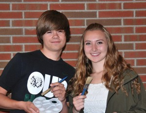 Most artistic: Noah Kuniholm and Bailey Coleman