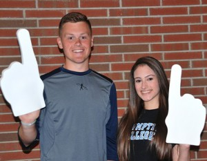 Best All Around: McKay Lewis and Valerie Oquendo