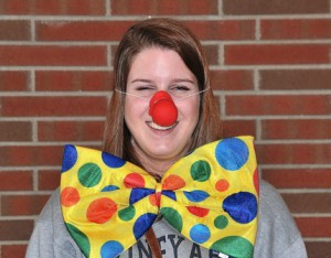 Class Clown: Kaitlyn Delaney and Dan Divirgilio (not pictured)
