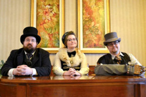 The Citizens of Antiford members (l to r) Justin Thibaut, Megan Koda and Samuel Sarette Photo/submitted